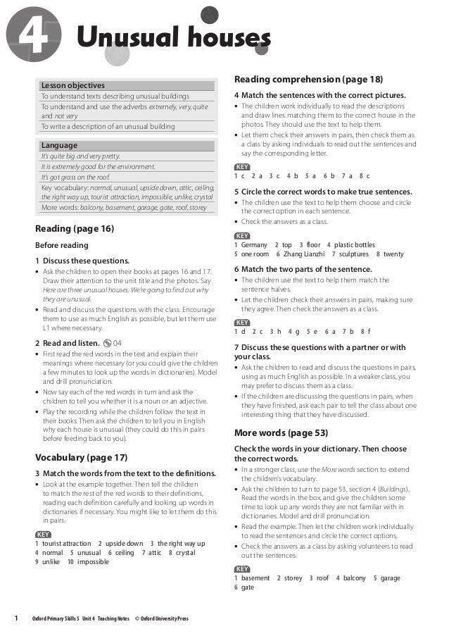 Oxford primary skills_5_-_key