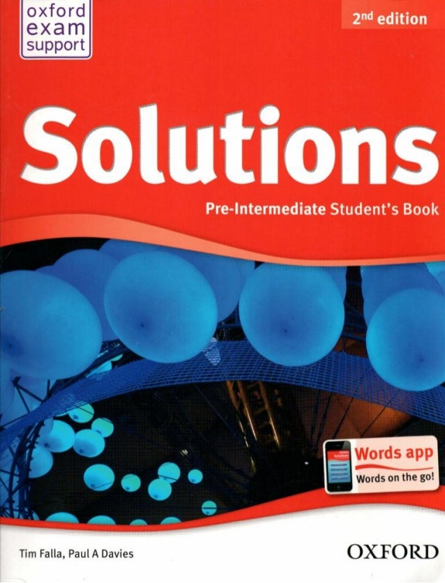 Ukraine гдз edition solutions pre intermediate 2nd workbook