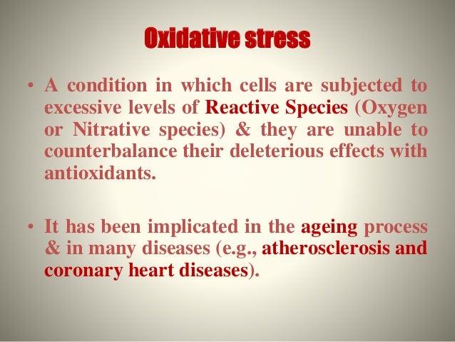 Oxidative stress Slide 2