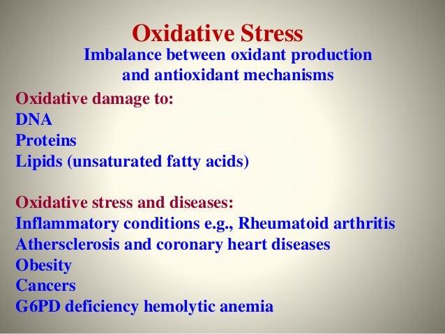 Oxidative stress Slide 3