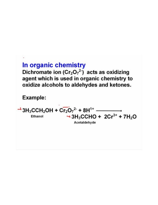 Oxidizing And Reducing Agents
