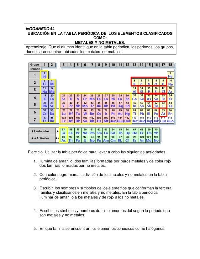 Oxidos metalicos actividades iegoanexo 44 ubicacin en la tabla peridica de los elementos clasificados urtaz Choice Image