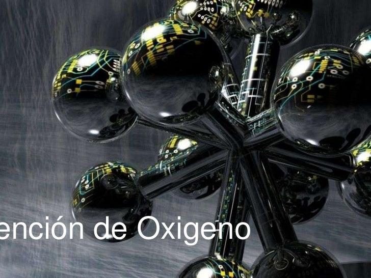 Obtención de Oxigeno<br />