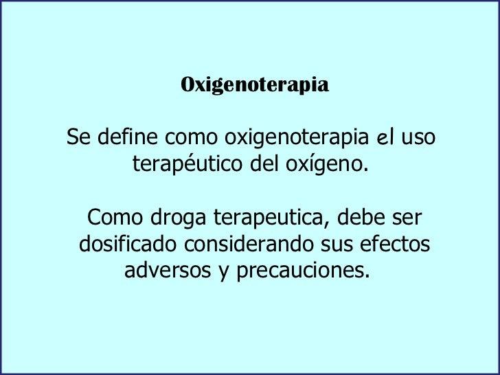 Oxigenoterapia Slide 2