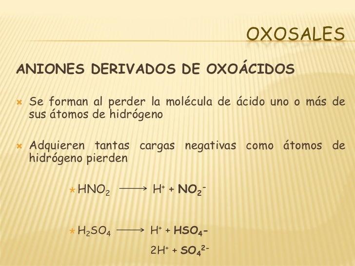 Oxoacidos Y Oxosales
