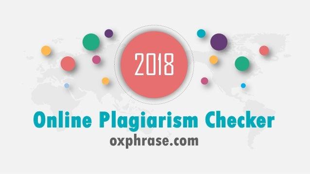 oxphrase.com - accurate plagiarism checker
