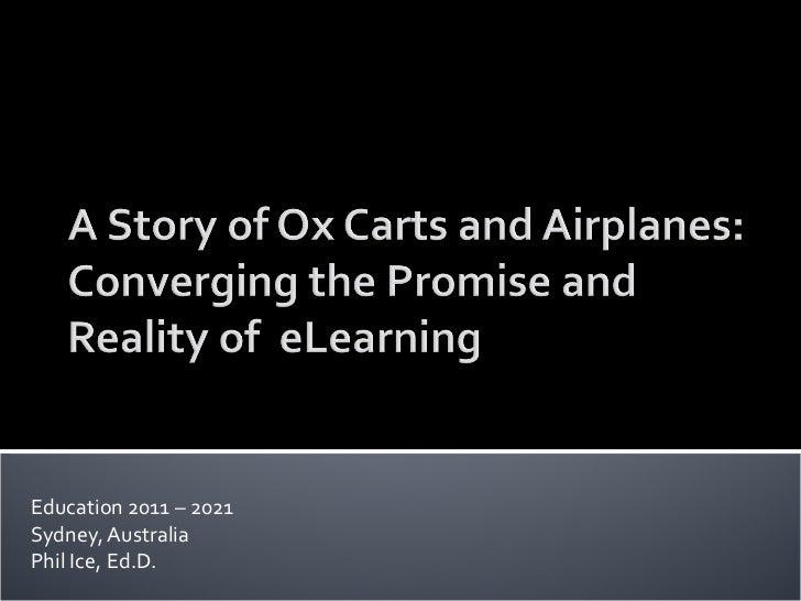 Education 2011 – 2021 Sydney, Australia Phil Ice, Ed.D.