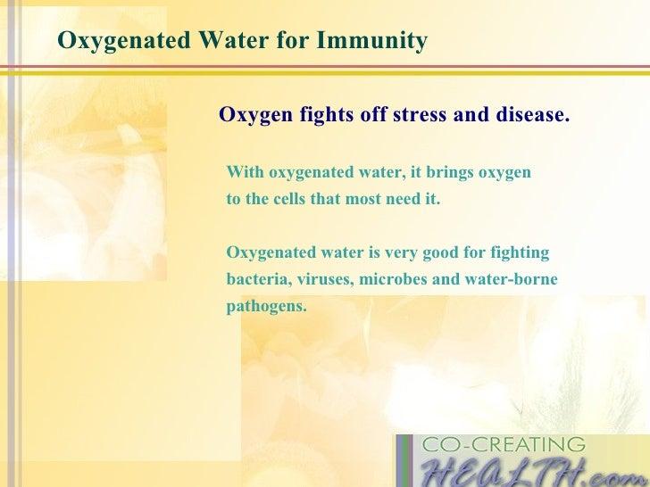 Oxygenated Water