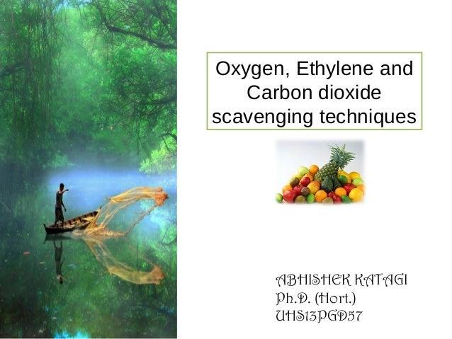 Oxygen, Ethylene and Carbon dioxide scavenging techniques  ABHISHEK KATAGI Ph.D. (Hort.) UHS13PGD57