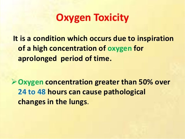 Oxygen Therapy Methods Of Oxygenation