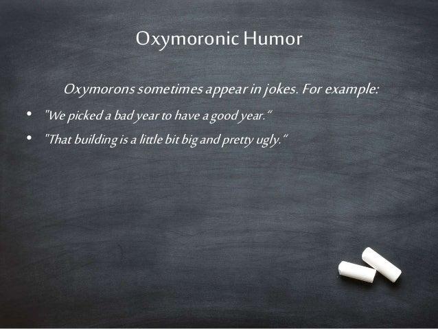 Antithesis same oxymoron