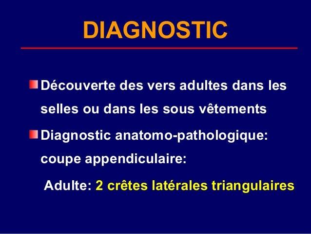 Oxyurose ascaridiose - trichocephalose