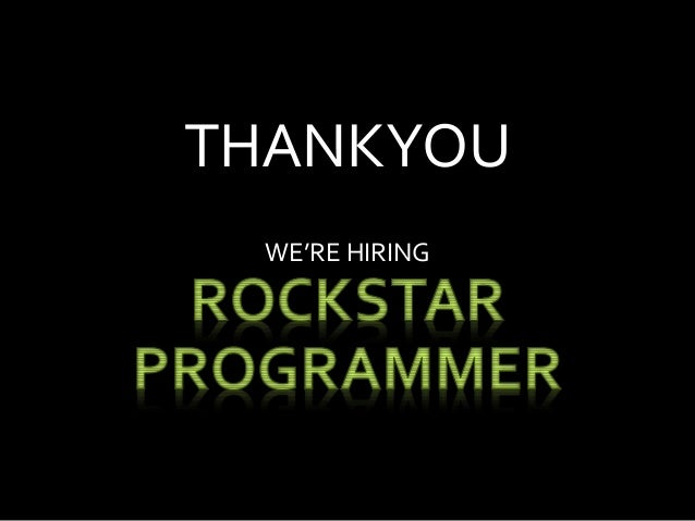How to Become Rockstar Programmer