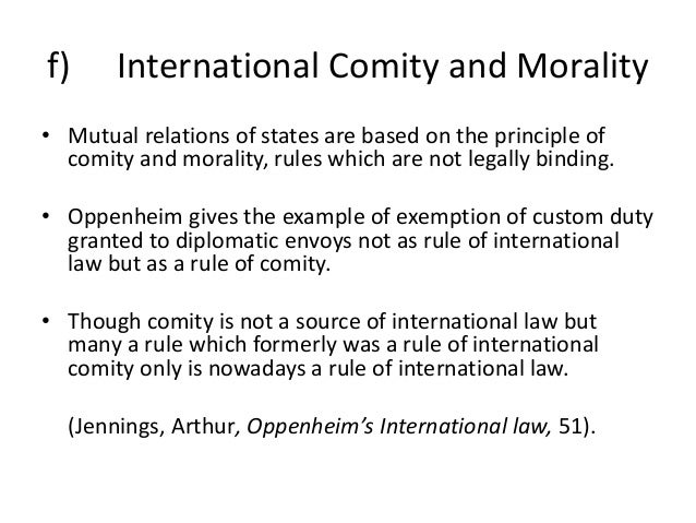 international law morality and more Huge issues now confront us international law and the geneva conventions ban the use of torture in any circumstance the moral case is indisputable: it can never be right for one human being to abuse, inflict unbearable pain and abase another.