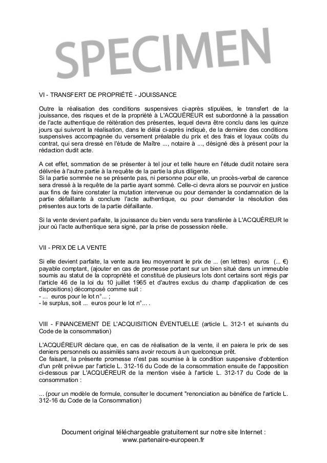 Modele Offre Dachat Immobilier Avec Clause Suspensive Belgique