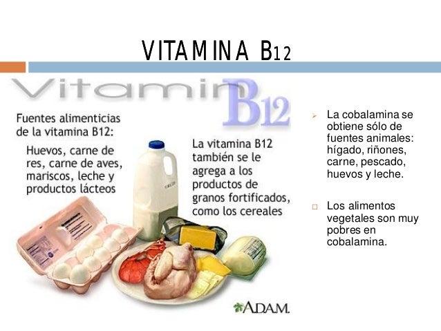 Oye te hace falta vitaminas - En que alimentos esta la vitamina b12 ...