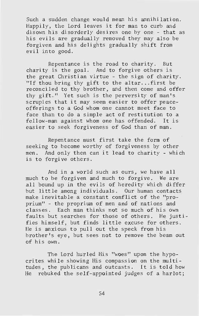 forgiveness essay