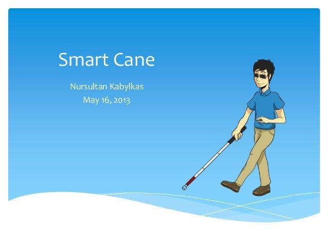 Smart CaneNursultan KabylkasMay 16, 2013