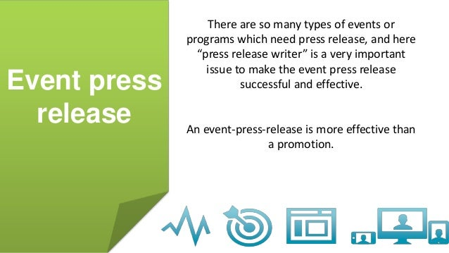 event press release example