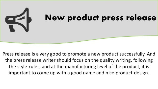 Product Press Release Template Download Press Release Template