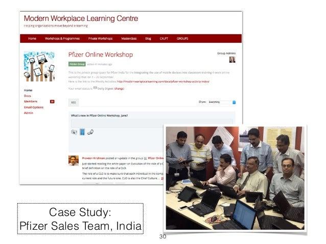 30  Case Study:  Pfizer Sales Team, India