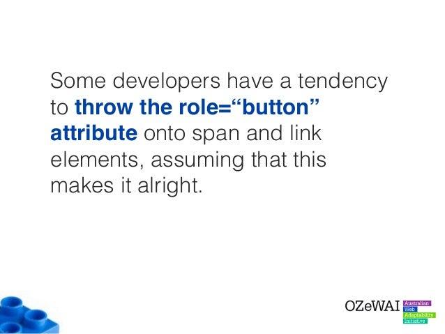 """<span class=""""btn btn-default"""" role=""""button""""> Button using a span </span> <a class=""""btn btn-default"""" href=""""#"""" role=""""button""""..."""