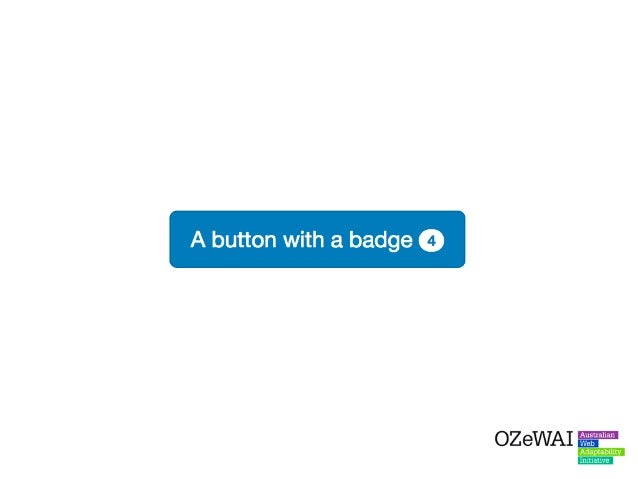 For sighted users, there is often some context associated with these badge numbers - visual clues that let users know what...