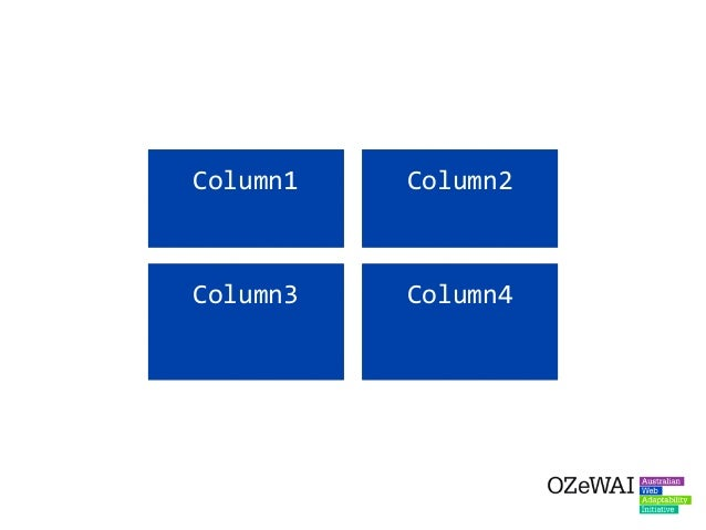 Solution: Try to use other methods to provide modified content for different screen sizes - even modifying within the one b...