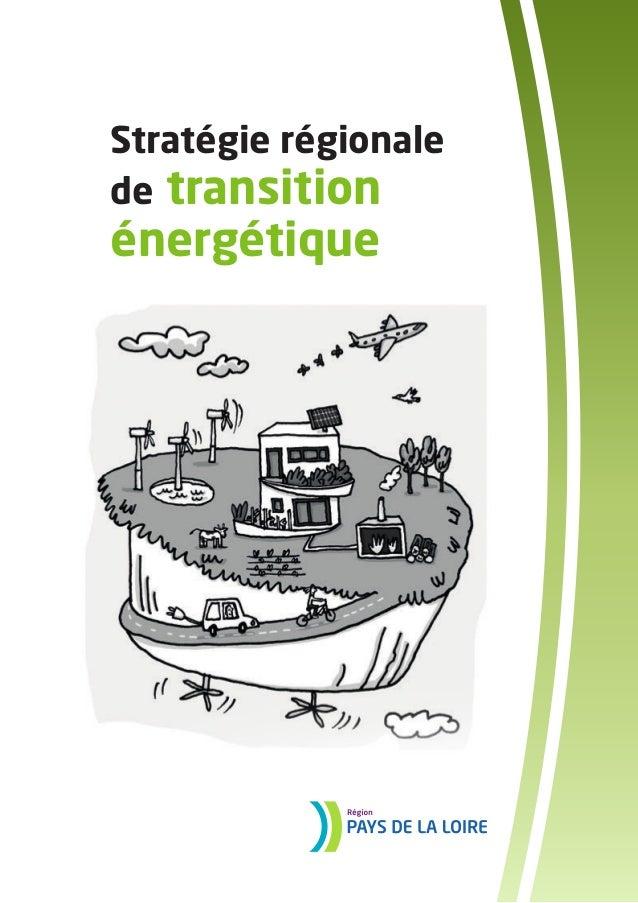 Stratégie régionale  de transition  énergétique