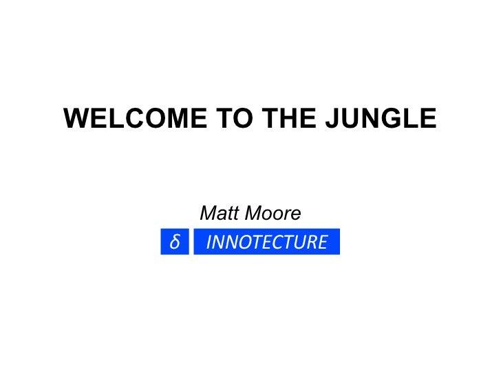 WELCOME TO THE JUNGLE          Matt Moore