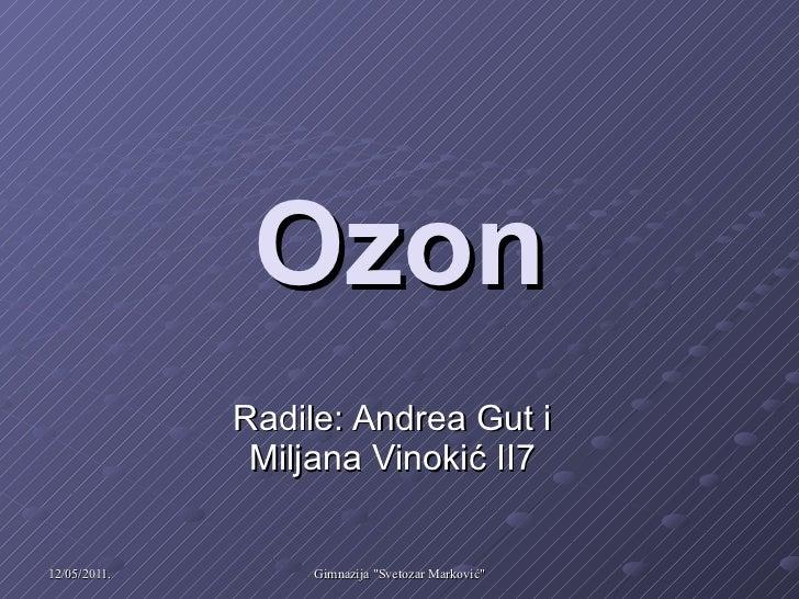 Ozon Radile: Andrea Gut i Miljana Vinokić II7