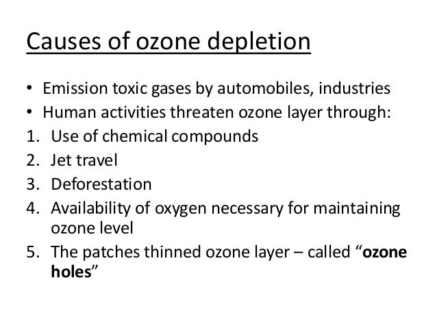 The importance of the ozone layer in sustaining life on earth