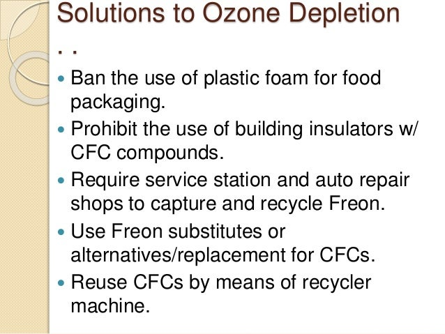 ozone layer solutions