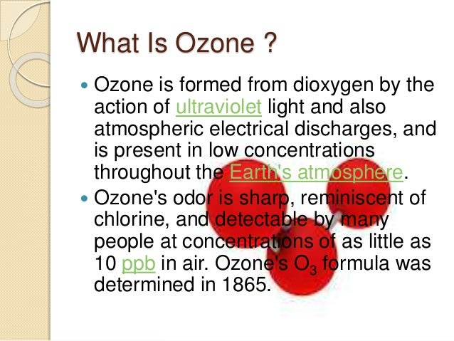 The Ozone Depletion By Christian Dave Caylo