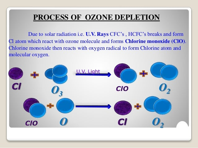 an overview of the ozone depletion process