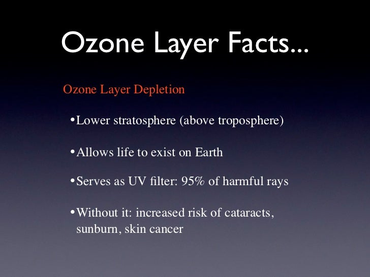 a look at the ozone layer and what causes its depletion Ozone layer depletion was first identified in late 1970's and the scientists claimed that 4% of the total ozone has been destroying per decade that was an alarming situation for environmentalists all over the world because ozone layer depletion is directly proportional to some of the most destructive skin diseases including tumor formation.