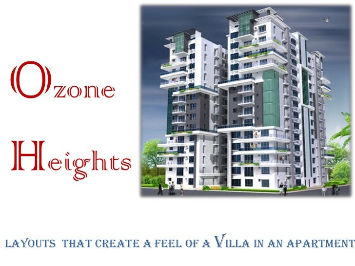 OzoneHeightsLayouts that create a feel of a villa in an apartment