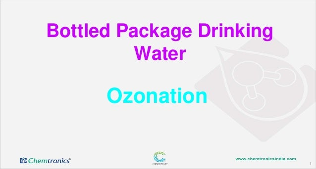 1 Ozonation Bottled Package Drinking Water