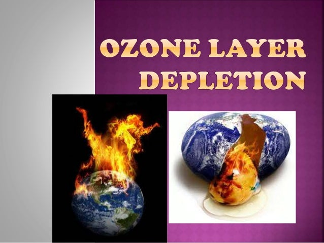ozone layer depletion pdf