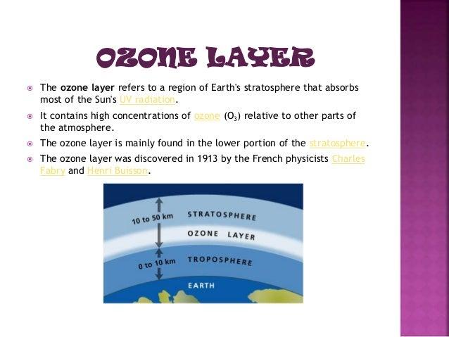 Ozone Layer Depletion Pdf