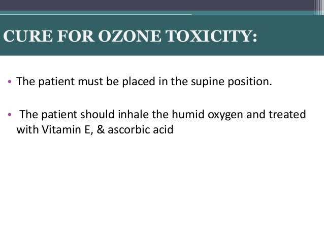 Ozone Therapy In Dentistry