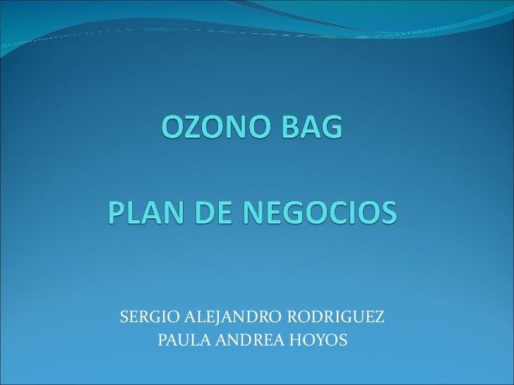 SERGIO ALEJANDRO RODRIGUEZ PAULA ANDREA HOYOS
