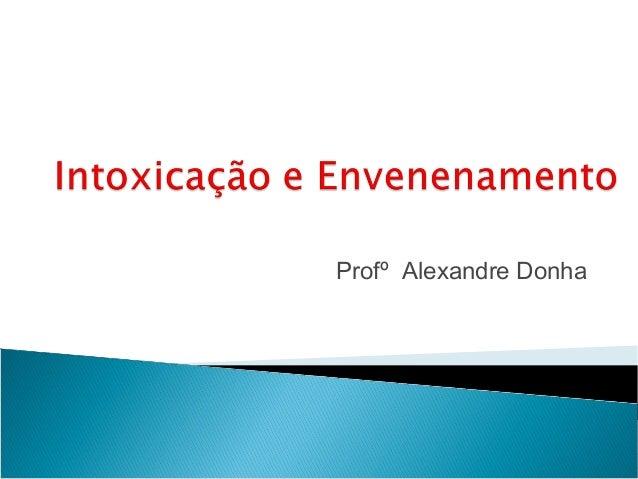 Profº Alexandre Donha