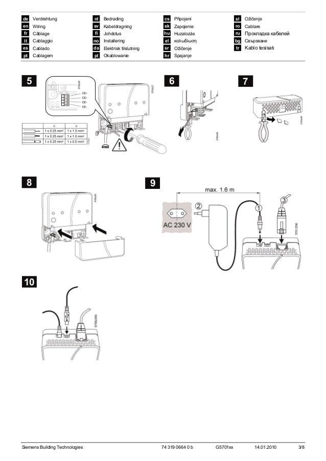 Ozw772.250 2 instructions_d_installation_de_en_fr_it_es_pt