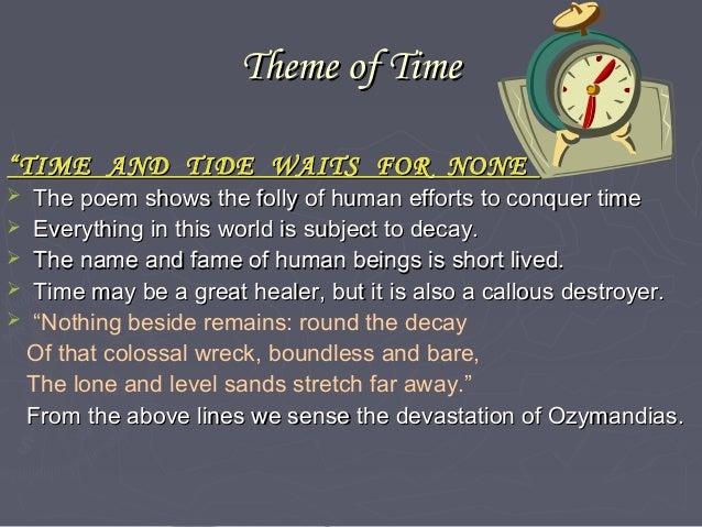 main theme of ozymandias