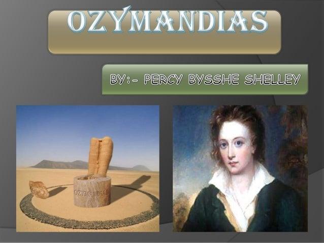 percy bysshe shelley ozymandias