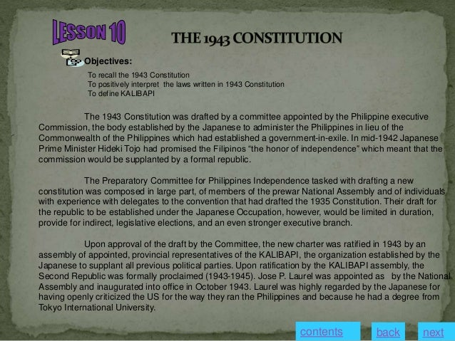 constitutional commission of the philippines Philippine constitutional commission of 1986 the philippine constitutional commission of 1986 was the constitutional convention tasked with drafting the present.