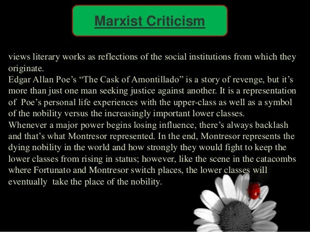 an analysis of the view of the marxist approach on crime and the criticism against it Maybe more than any other literary theory, marxism tries to explain exactly what that book has to do with the real world if new criticism is all about the text and nothing but the text, marxism is all about the context.