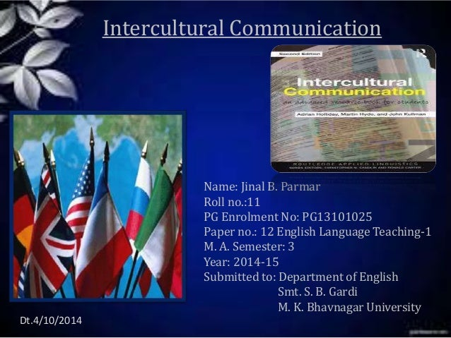 intercultural communication paper If you need a custom term paper on sociology essays: problems in intercultural communication, you can hire a professional writer here to write you a high quality authentic essay while free essays can be traced by turnitin (plagiarism detection program), our custom written essays will pass any plagiarism test our writing.