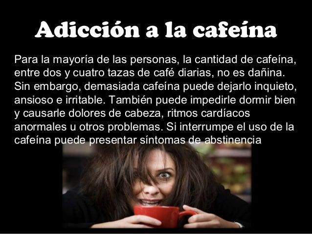 Resultado de imagen de adicción a la cafeina